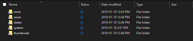 Symlinks and [Dropbox, Google Drive, OneDrive] on Windows 10